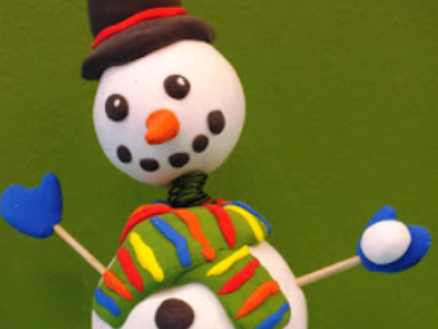 Mommy's Time Off- Snowman Bobbles (3-9 Years)